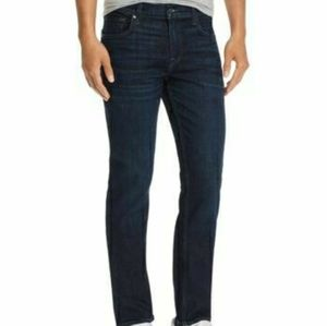 7 for all mankind slimmy dark wash jeans